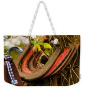 Lucky Horseshoes Weekender Tote Bag by Jordan Blackstone