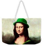 Lucky Mona Lisa Weekender Tote Bag