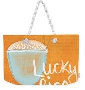 Lucky Rice Weekender Tote Bag by Linda Woods