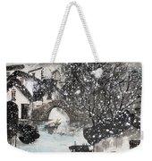 Lucky Snow  Weekender Tote Bag