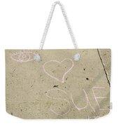 Lucky Sue Weekender Tote Bag