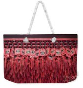 Lucky Wishes In Chinese Temple Weekender Tote Bag