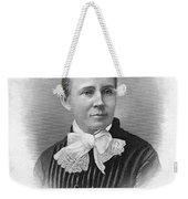 Lucretia Garfield (1832-1918) Weekender Tote Bag