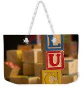 Lucy - Alphabet Blocks Weekender Tote Bag