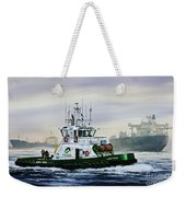 Lucy Foss Weekender Tote Bag by James Williamson