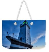 Ludington Lighthouse Weekender Tote Bag