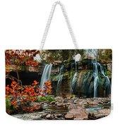 Ludlowville Falls Weekender Tote Bag