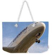 Lufthansa Airbus A-380 Weekender Tote Bag