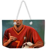 Luis Figo Weekender Tote Bag by Paul Meijering