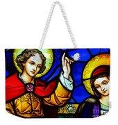 Luke 1 Verse 30 To 33 Weekender Tote Bag