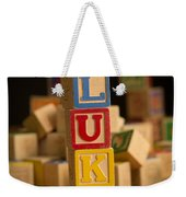 Luke - Alphabet Blocks Weekender Tote Bag