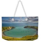 Lulworth Cove Evening Weekender Tote Bag