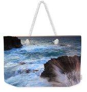 Lumahai Sea Explosion Weekender Tote Bag