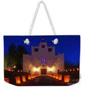 Luminaria Saint Francis De Paula Mission Weekender Tote Bag
