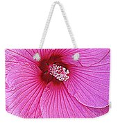 Luminescent In Pink Weekender Tote Bag