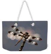 Luminous Dragonfly Weekender Tote Bag