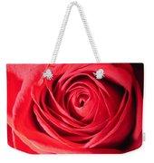 Luminous Red Rose 7 Weekender Tote Bag