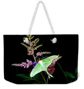 Luna Moth Astilby Flower  Weekender Tote Bag