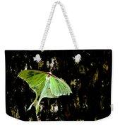 Luna Moth On Tree Weekender Tote Bag