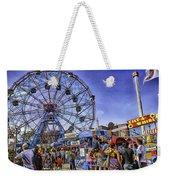 Luna Park 2013 - Coney Island - Brooklyn - New York Weekender Tote Bag