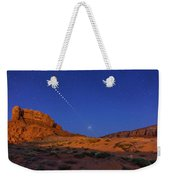 Lunar Eclipse Sequence From Monument Weekender Tote Bag