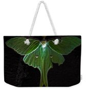 Lunar Moth Weekender Tote Bag
