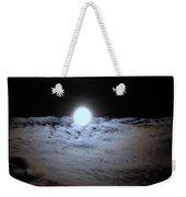 Lunar Ocean Weekender Tote Bag