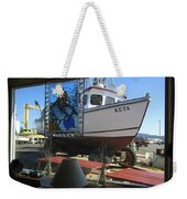 Lunch At Griffs On The Coast Weekender Tote Bag