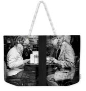 Lunch Weekender Tote Bag by Dave Bowman