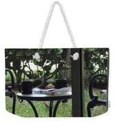 Lunch Guests Al Fresco Weekender Tote Bag