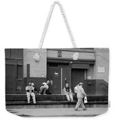 Lunch Time In Black And White Weekender Tote Bag