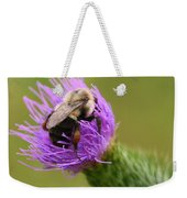 Lunching Atop A Thistle Weekender Tote Bag