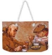 Lunchtime At Tim  Weekender Tote Bag