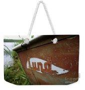 Lund Fishing Boat Weekender Tote Bag
