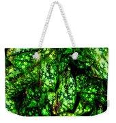 Lungwort Leaves Abstract Weekender Tote Bag