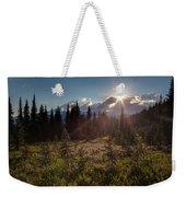 Lupine Field Sunstar Weekender Tote Bag