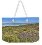 Lupines At Mono Lake Weekender Tote Bag