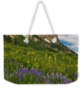 Lupines On The Hillside Weekender Tote Bag