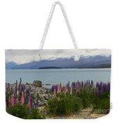 Lupins By Lake Tekapo Weekender Tote Bag