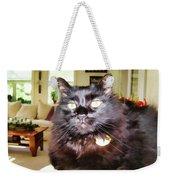 Lura Leigh Kitty Weekender Tote Bag