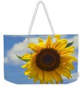 Lus Na Greine - Sunflower On Blue Sky Weekender Tote Bag
