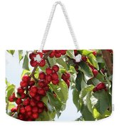 Luscious Cherries Weekender Tote Bag