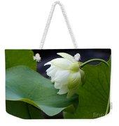 Luscious Lotus Weekender Tote Bag