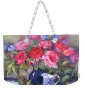 Luscious Roses Weekender Tote Bag