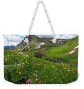 Lush Colorado Summer Landscape Weekender Tote Bag