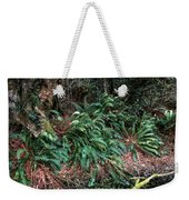 Lush Ferns Of The Forest Weekender Tote Bag