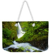 Lush Gorge Falls Weekender Tote Bag