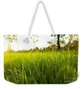Lush Grass Weekender Tote Bag
