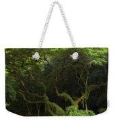 Lush Green Weekender Tote Bag