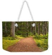 Lush Green Forest At Cheakamus Weekender Tote Bag
